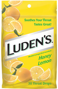 Luden's Sore Throat Lozenges – Honey Lemon