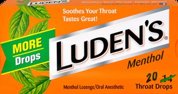 Luden's Original Menthol Throat Lozenges