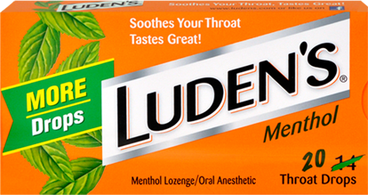 Luden's Original Menthol Throat Lozenges