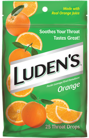 Luden's Supplement Throat Drops – Orange
